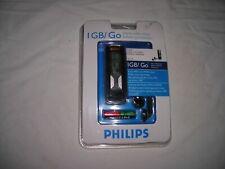 Phillips 1GB/Go Portable Digital Audio Music Player 450 Songs MP3 WMA USB NIB
