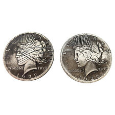 Dos Caras 2 Sided Monedas con / Scratch Prop Harvey Dent For Batman Traje