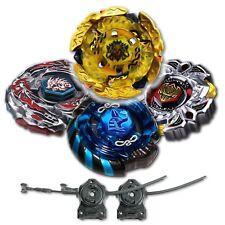 Beyblade 4 Pk Hell Kerbecs+Mercury Anubis Blue+Variares+Drago Black w/ 2x LL2