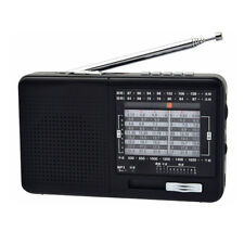 XHDATA D-328 FM Radio AM SW Portable Band MP3 Player With TF Card Jack