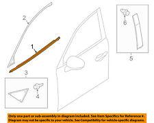 MAZDA OEM 14-18 3-Door Window Sweep-Belt Molding Weatherstrip Left BJS850650B