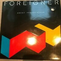 FOREIGNER AGENT PROVOCATEUR 1984 LP  VG/EX I WANT TO KNOW WHAT LOVE IS
