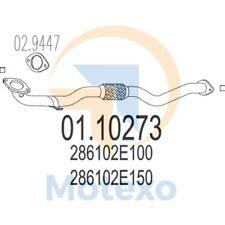 MTS 01.10273 Exhaust HYUNDAI Tucson 2.0i 16V 2WD 141bhp 04/04 -