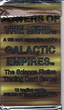 GALACTIC EMPIRES TRADING CARD GAME POWERS OF THE MIND BOOSTER PACK *CCG*