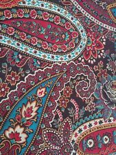 Rare! Genuine Vintage Paisley Skirt ~ Late 60's ~ Psychedelic ~ Pockets!