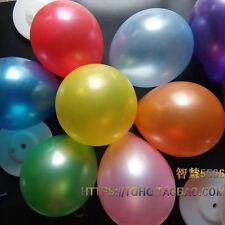 """12"""" Latex Metallic Pearlised Quality Party Birthday Wedding Balloons AAAAA"""
