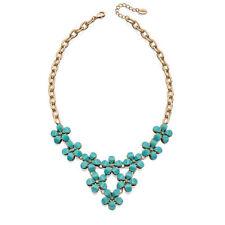Crystal Stone Statement Costume Necklaces & Pendants