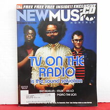 TV On The Radio CMJ New Music Magazine Pedro The Lion Willy Mason Issue 123/124!