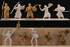 Jecsan - 20 Muslim Warriors in 10 poses - unpainted 60mm plastic - colors vary