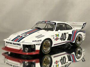 Norev Porsche 935 Turbo Martini #40 24h LeMans 1976 Stommelen / Schurti 1:18