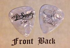 AIR SUPPLY band signature tour logo guitar pick  GRAHAM RUSSELL - (W)