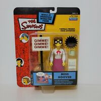 Playmates The Simpsons MISS HOOVER Figure World of Springfield Series 14 2003
