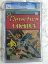 DETECTIVE COMICS #103 CGC 7.0 OW/WH PAGES // GOLDEN AGE BATMAN + ROBIN