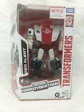 Transformers War for Cybertron Trilogy Netflix Deluxe Autobot RED ALERT