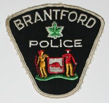 BRANTFORD POLICE Canada Canadian PD patch