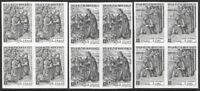 SMOM Sovereign Military Order of Malta 1969 Nativity Set IMPERF BLOCKS VF-NH