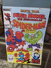 Peter Porker Spider-Ham Issue #1 Marvel 1983