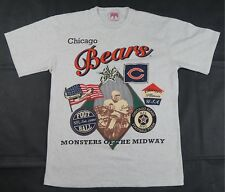 Rare Vintage GLORY DAYS Chicago Bears Monsters Of The Midway 1920 T Shirt  90s M 48a2c2104