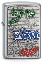 Lighter Zippo Grafitti Emblem