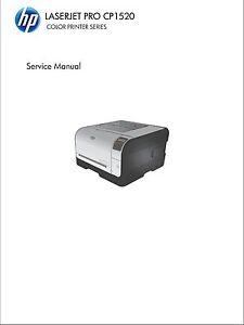 HP Color LaserJet Pro CP1520 - Service Manual PDF