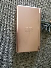 Nintendo DS Lite Coral Pink Console And Charger