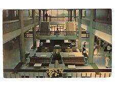 Central Lobby of the LSU Union, Baton Rouge, Louisiana LA Postcard