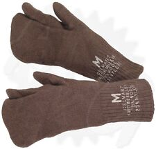 100  M-1948 Wool Mittens - New - Trigger Finger Liner - Size Medium, GI Surplus