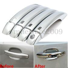 Chrome Door Handle Cover Exterior Trim ABS For Audi Q5 09-13 A4 B8 S4 A5 08-11