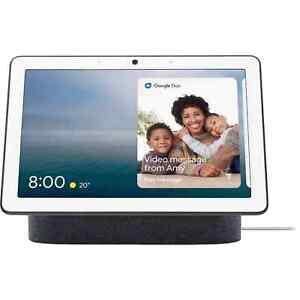 "Google Nest GA00426US 10"" Hub Max w/ Google Assist - Charcoal (BRAND NEW/SEALED)"