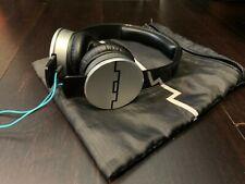 Sol Republic Tracks V10 On-Ear Headphones Black Used