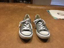 Converse All Star Grey Tennis Shoes Mens 7M/ Womens 9M