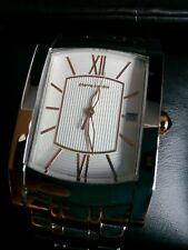NEW OTHER PIERRE CARDIN MANS QUARTZ WATCH SWISS MADE ROSE GOLD/STAINLESS