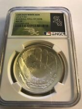 2014 Baseball HOF HALL FAME Proof Silver $1 - NGC MS70 Chicago White Sox