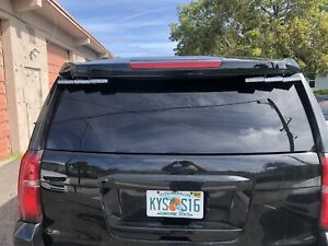Whelen Outer Edge With Green Whelen ION Lights 2015-2020 Chevy Tahoe