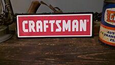 Craftsman advertising metal sign vintage mechanics garage  50005