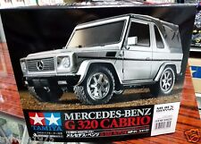 Tamiya # 58629 Rc Mercedes-Benz G 320 Cabrio - Mf-01X New In Box