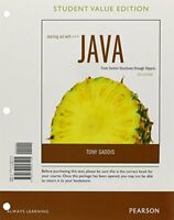 Starting Out With Java From Control Structures Through Objects  by Tony Gaddis