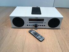 Yamaha MCR-042 Stereoanlage Micro Component System+2x NS-BP82 Weiß -Fast wie neu