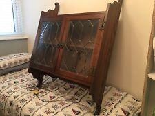 Old Charm Oak Wall Cabinet