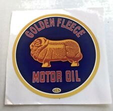 Golden Fleece Motor Oil Large Sticker Holley tool box man cave beer fridge