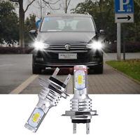 2x LED LAMPEN H7 55W Auto Light ABBLENDLICHT Weiß 6000K VS Xenon für VW Touran