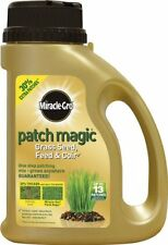 Miracle-Gro Patch Magic Grass Seed, Feed and Coir, 1015g Shaker Jar