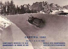 FDC CORTINA 1966 CAMPIONATI MONDIALI DI BOB - DOLOMITI - C8-200