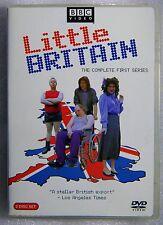Good Cond MINOR Scuffs WS Little Britain Complete First Series 2-DVD BBC REG. 1