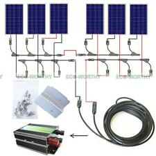 960W COMPLETE KIT: 6x 160W solar panel for 24V off grid Camping Boat Power RV