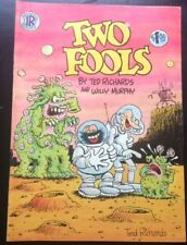 Two Fools #1 Fine 1st print Ted Richards Saving Grace Underground Comix