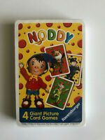 Noddy - 4 Giant Picture Card Games - New in Seal - Ravensburger