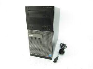 Dell Optiplex 9020 MT Intel Core i7-4790 @ 3.60GHz 8GB RAM 500GB HDD DVDRW