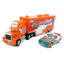 Disney Pixar Car No.92 Mack Racer's Truck & Sputter Stop Toy Car 1:55 Loose New