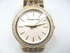 NEW OLD STOCK MICHAEL KORS DARCI MK3219 GOLD PLATED QUARTZ WOMEN LADY WATCH